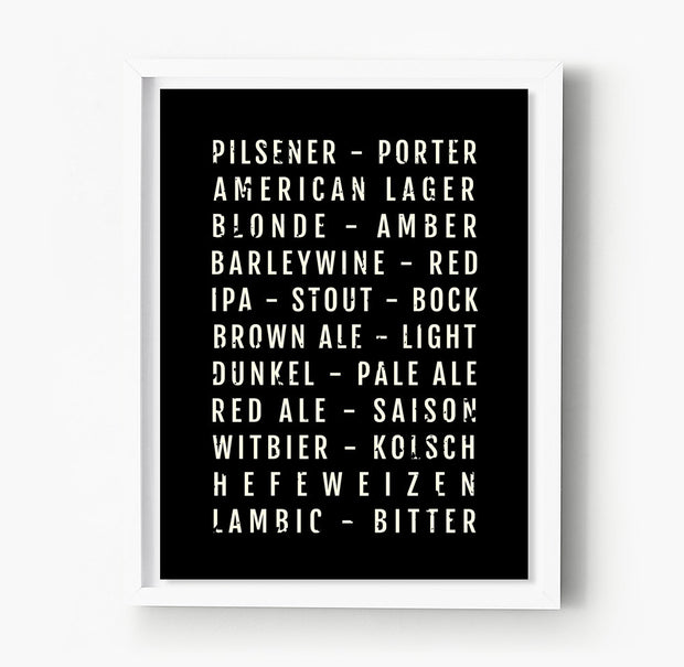 Beer Subway Poster