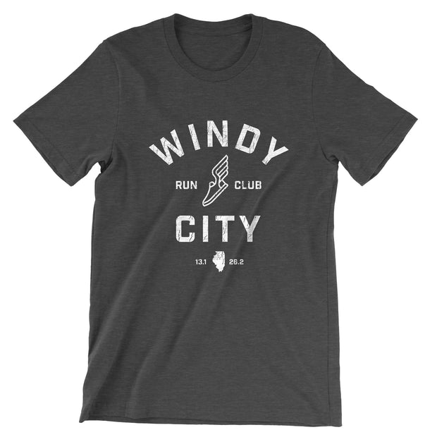 Windy City Run Club T-Shirt (Unisex)