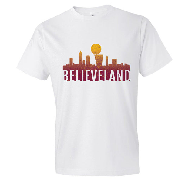 Cleveland Cavaliers BELIEVELAND Championship T-Shirt (Mens)