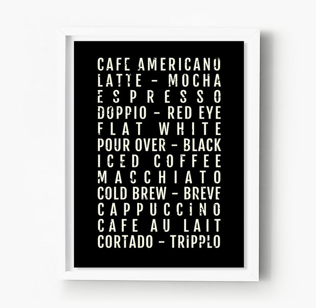 Coffee Subway Poster