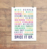 Spice It Up Subway Poster