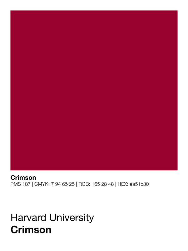 harvard-crimson-prints