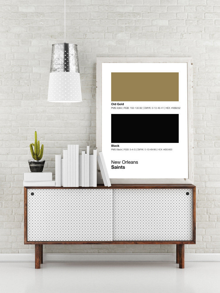 New Orleans Saints Gameday Colors Print