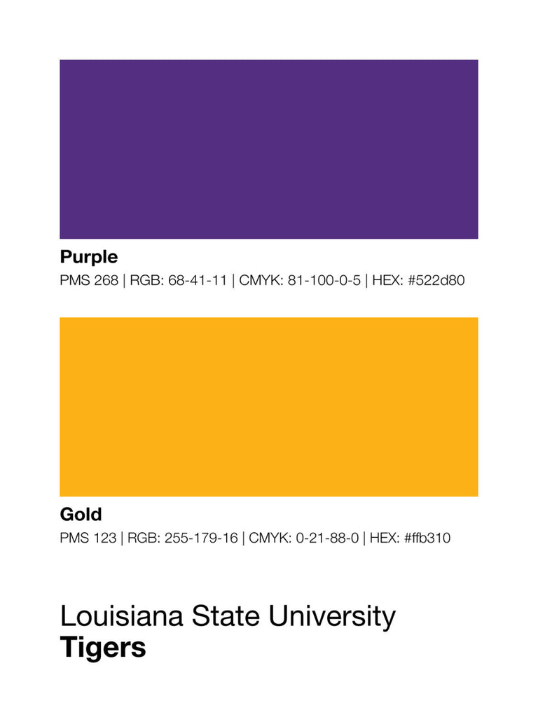 Colors Purple And Gold