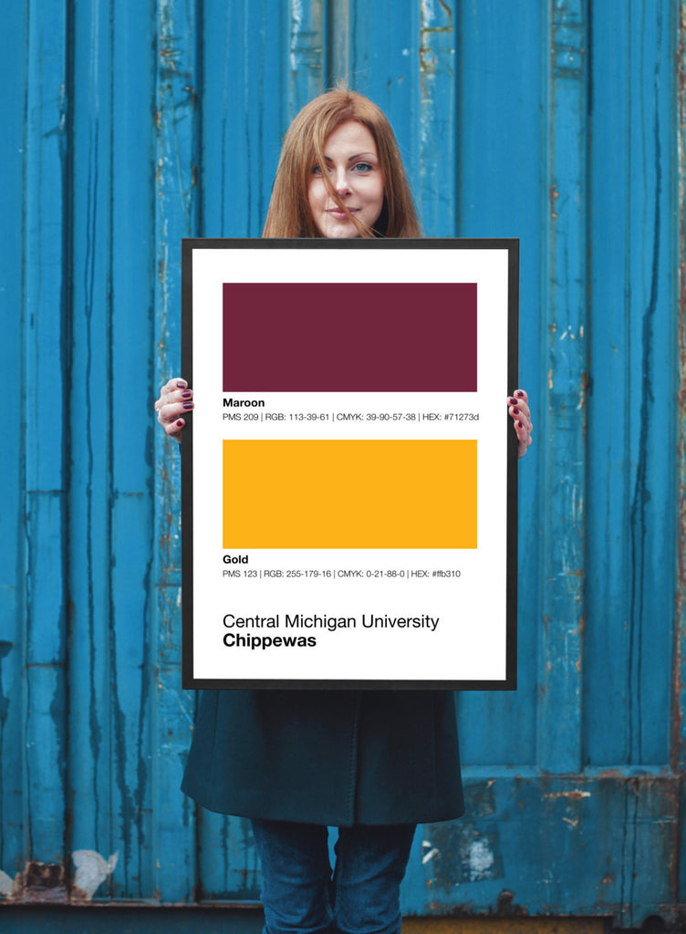 central-michigan-chippewas-prints