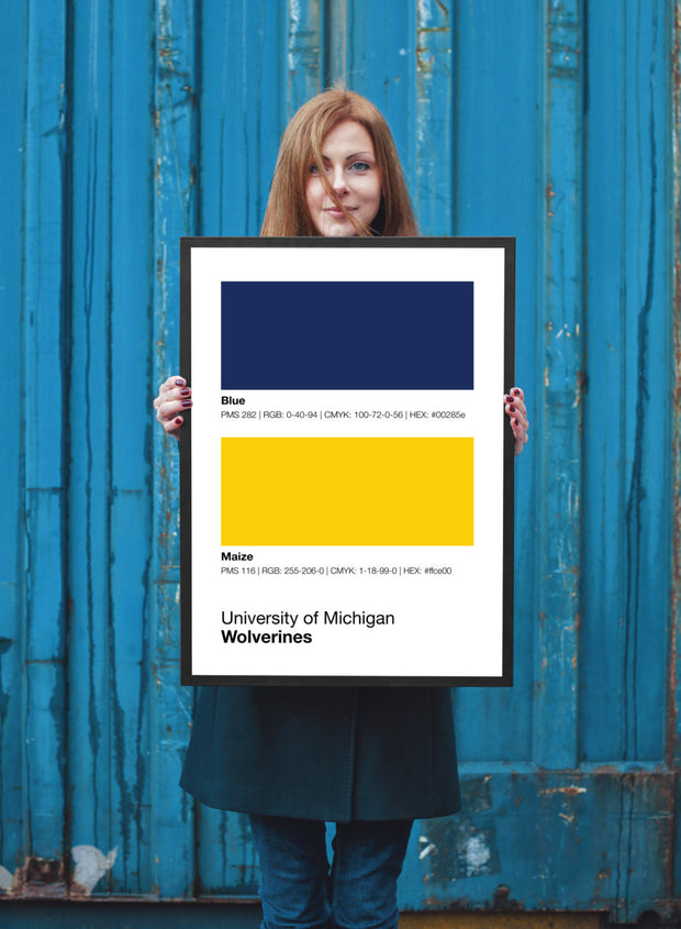 michigan-wolverines-prints