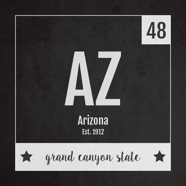 Arizona US State Print