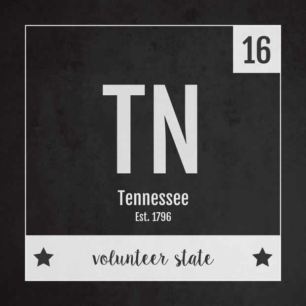 Tennessee US State Print