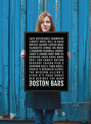 Boston Print - Restaurants And Bars - Subway Poster