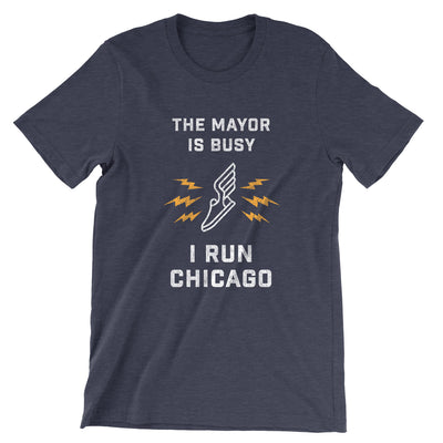 I Run Chicago T-Shirt (Unisex)