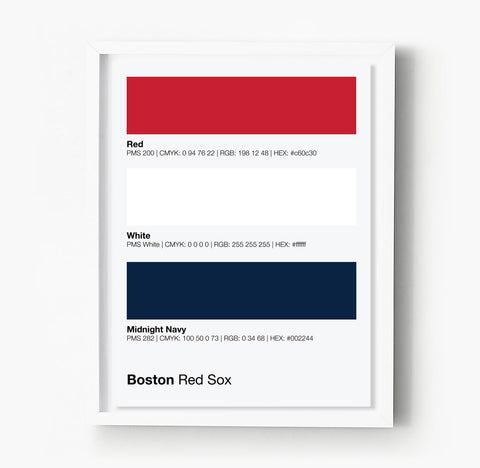 Bentley University Falcons Gameday Colors Print