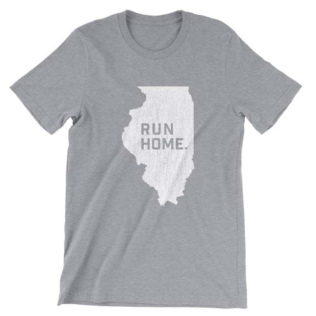 Run Home Illinois T-Shirt (Unisex)
