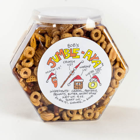 Snack Mix Gift Container - Christmas