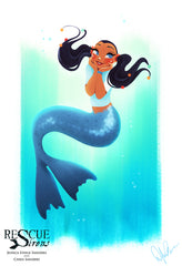 Rescue Siren Pippa by Dylan Bonner, mermaid form