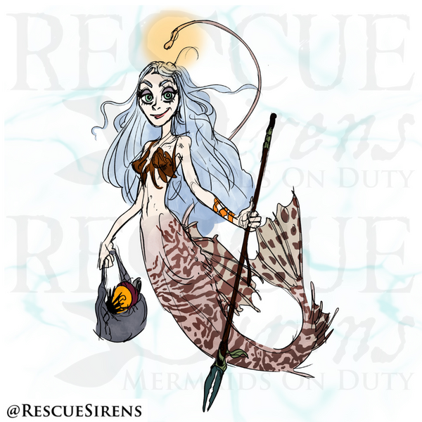 """""""Rescue Sirens"""" Aphotic Class (""""Deeper"""") mermaid, Salvaging Guild"""