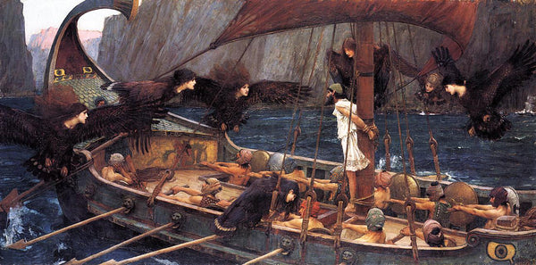 """Ulysses and the Sirens,"" John William Waterhouse (1891)"