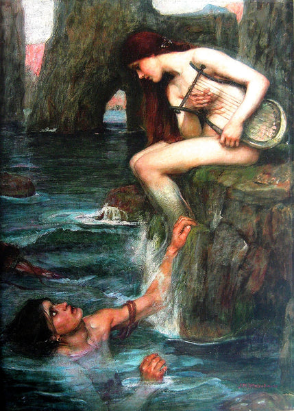 """The Siren,"" John William Waterhouse (1900)"