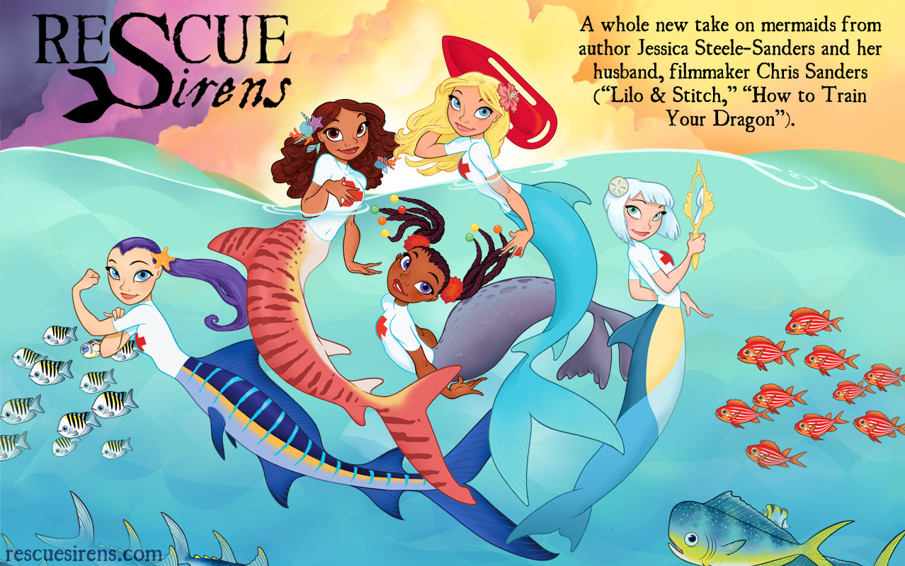 """Rescue Sirens"" illustration by co-author Chris Sanders"