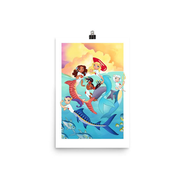 The Pod's All Here - Premium Luster Paper Poster (Artist: Chris Sanders)