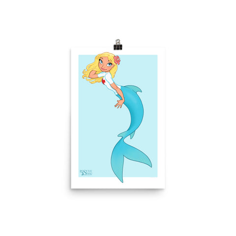 Rescue Siren Nim - Enhanced Matte Paper Poster (Artist: Chris Sanders)
