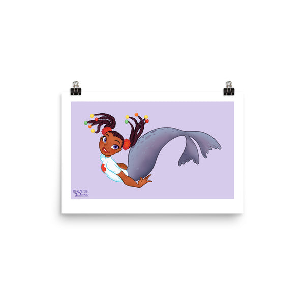 Rescue Siren Pippa - Enhanced Matte Paper Poster (Artist: Chris Sanders)