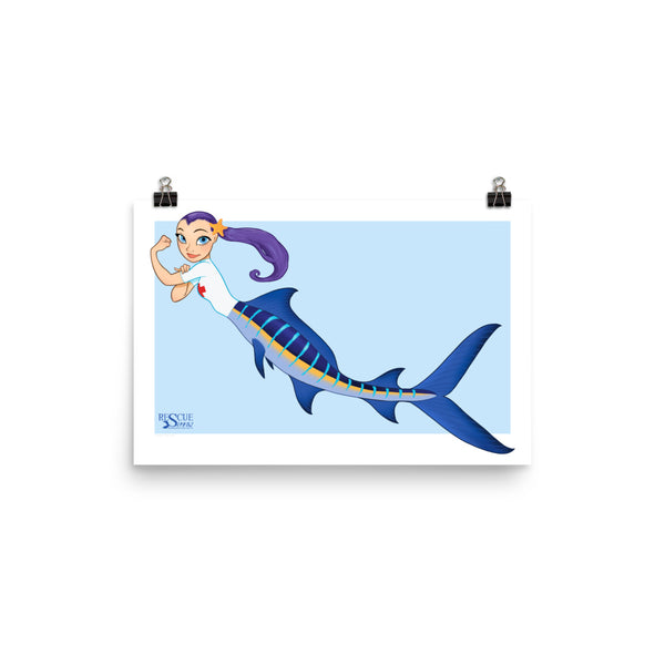 Rescue Siren Echo - Enhanced Matte Paper Poster (Artist: Chris Sanders)