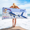 Rescue Siren Echo Towel (Artist: Chris Sanders)