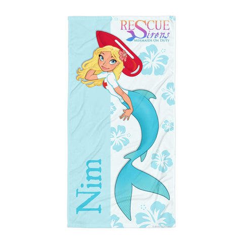 Rescue Siren Nim Towel (Artist: Chris Sanders)