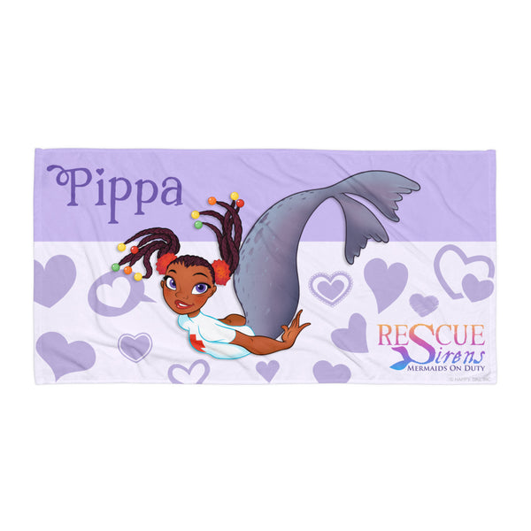 Rescue Siren Pippa Towel (Artist: Chris Sanders)