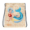 Rescue Siren Maris Drawstring Bag (Artist: Kellee Riley)