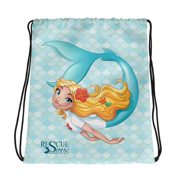Rescue Siren Nim Drawstring Bag (Artist: Kellee Riley)
