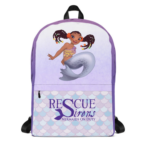 Pippa Backpack - Mermaid Top (Artist: Kellee Riley)