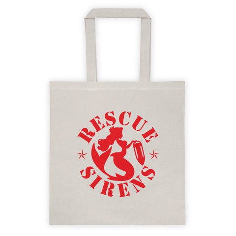 """Rescue Sirens"" Emblem Tote"