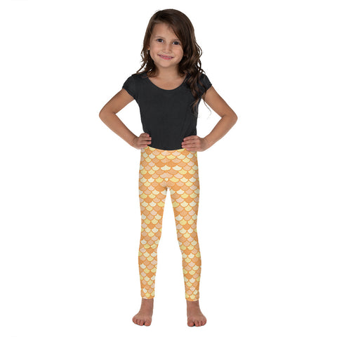 Maris Gold - Classic Mermaid Scales Leggings - Kids'