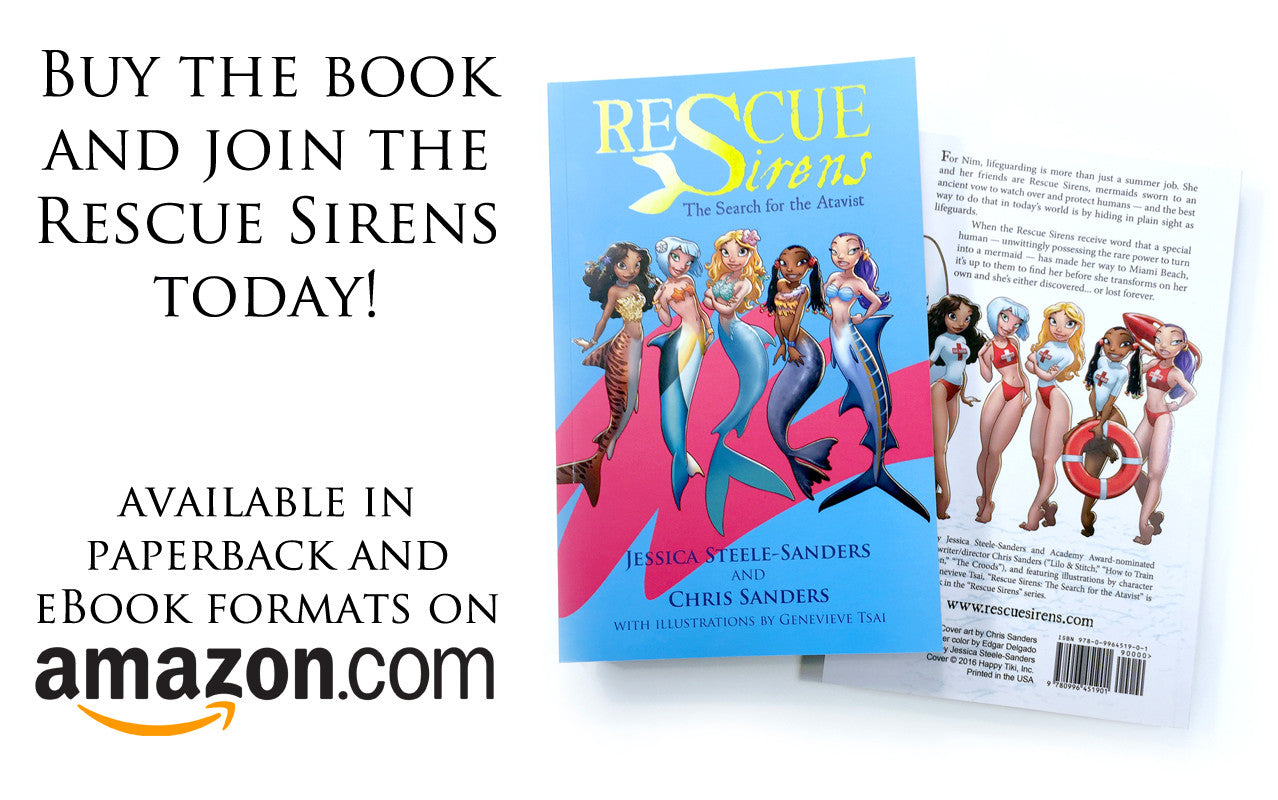 """Rescue Sirens: The Search for the Atavist"" paperback"