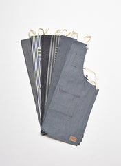 Herringbone Denim Apron