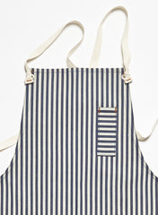 Wide Stripe Apron