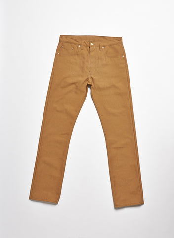 5-Pocket Tan Duck Pant