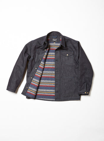 Dark Indigo Selvage Denim Jacket