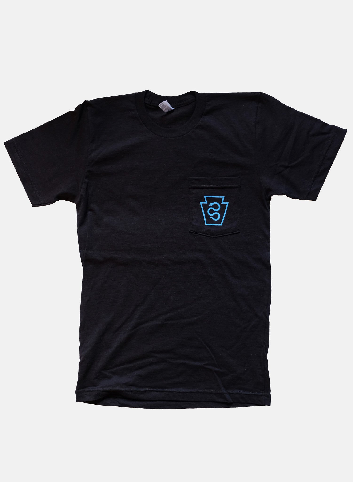 Standard Shirt Black and Blue