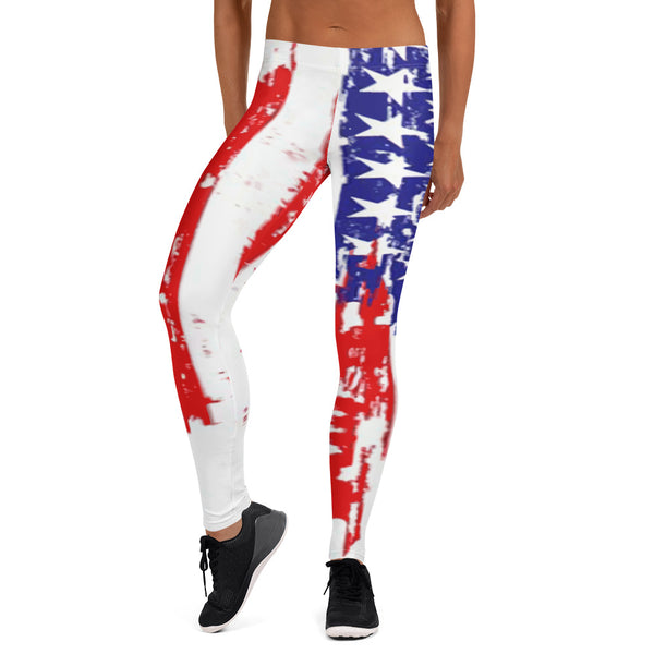 American Flag Custom Leggings