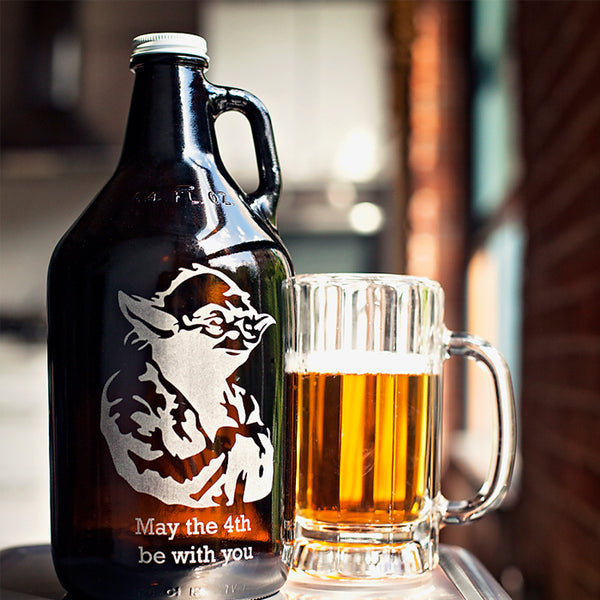 Personalized growler gift Canada no mininums by Sigil & Growler