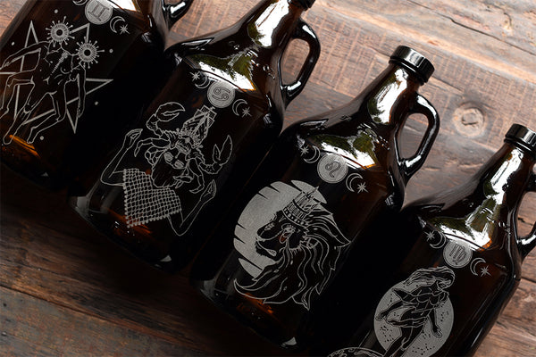 Zodiac Custom Growler Collection by Sigil and Growler