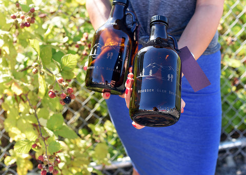 Custom and personalized 32oz groomsmen gift growlers by Sigil & Growler