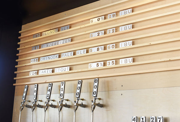 Faculty Brewing Free Growler Fill Promotion with Custom Growler Order- Sigil and Growler
