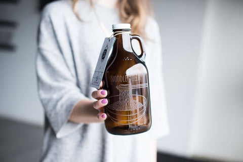 32 oz growlers. Custome engravings make an awesome gift.