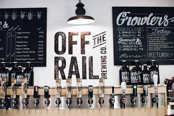 Off the Rail Brewing Review Sigil and Growler Vancouver