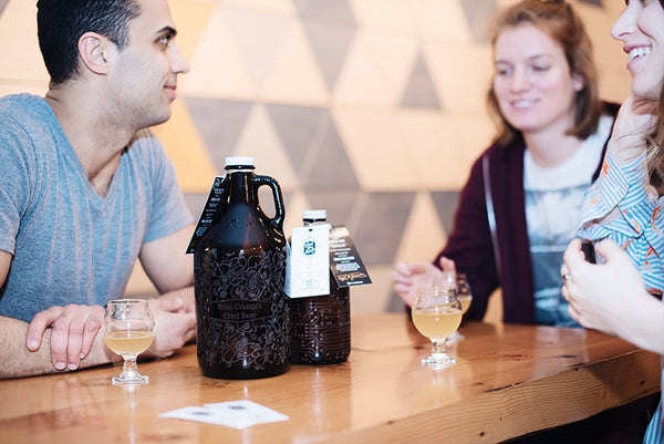 Personalized beer growler with a free fill from Luppolo Brewing