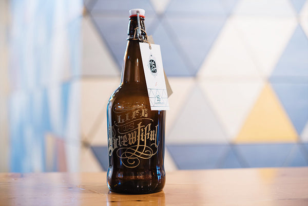 Personalized beer growler with free beer fill at Luppolo and Sigil and Growler