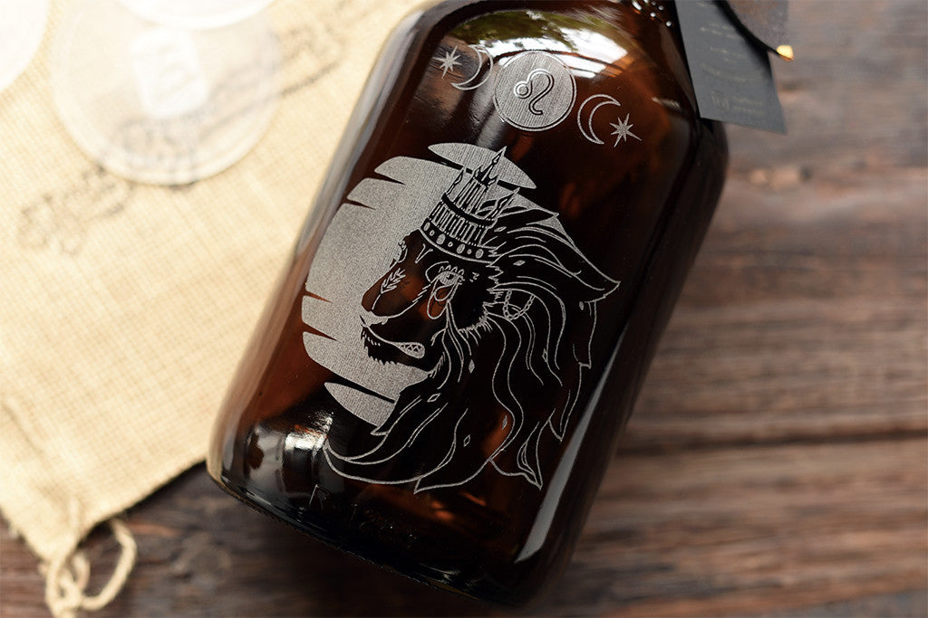 Personalize a growler with your own image